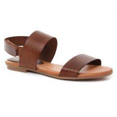 Chaussures femme été 2018 - sandales Slow Walk marron