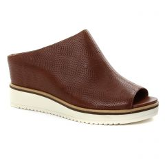nu-pieds-talons-compenses marron: même style de chaussures en ligne pour femmes que les Jb Martin