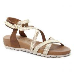 sandales marron: même style de chaussures en ligne pour femmes que les Tamaris