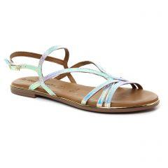 sandales argent multi: même style de chaussures en ligne pour femmes que les Tamaris