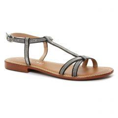 sandales noir argent: même style de chaussures en ligne pour femmes que les Dorking