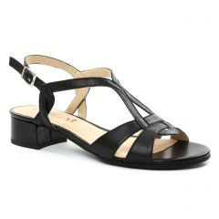 sandales noir: même style de chaussures en ligne pour femmes que les Caprice