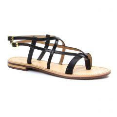 Chaussures femme été 2018 - sandales Geox noir