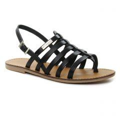 Les Tropéziennes Herilo Noir : chaussures dans la même tendance femme (sandales noir) et disponibles à la vente en ligne