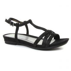 sandales noir: même style de chaussures en ligne pour femmes que les Porronet