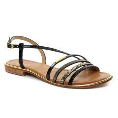 sandales noir multi: même style de chaussures en ligne pour femmes que les Les Tropéziennes