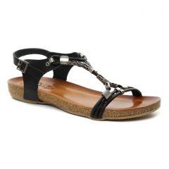 Chaussures femme été 2018 - sandales Porronet noir