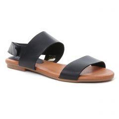 Chaussures femme été 2018 - sandales Slow Walk noir