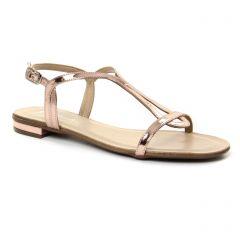 sandales rose: même style de chaussures en ligne pour femmes que les Les Tropéziennes