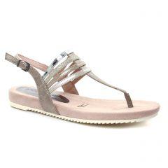 sandales rose multi: même style de chaussures en ligne pour femmes que les Tamaris