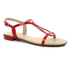 sandales rouge: même style de chaussures en ligne pour femmes que les Maria Jaén