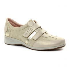 tennis beige doré: même style de chaussures en ligne pour femmes que les Les Tropéziennes