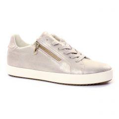 tennis beige doré: même style de chaussures en ligne pour femmes que les Geox