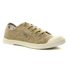 tennis beige doré: même style de chaussures en ligne pour femmes que les Mamzelle