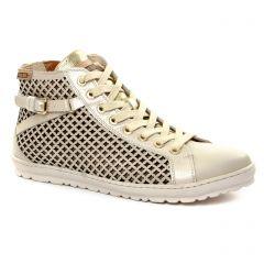 tennis beige doré: même style de chaussures en ligne pour femmes que les Pikolinos