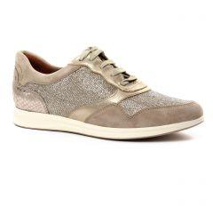 tennis beige doré: même style de chaussures en ligne pour femmes que les Marco Tozzi