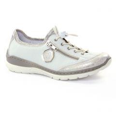 tennis blanc argent: même style de chaussures en ligne pour femmes que les Marco Tozzi