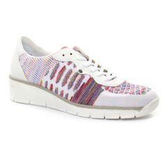tennis blanc multi: même style de chaussures en ligne pour femmes que les Victoria