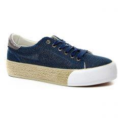 tennis bleu bronze: même style de chaussures en ligne pour femmes que les Les Tropéziennes