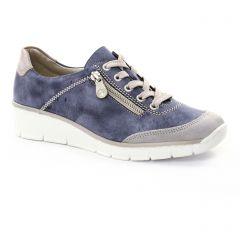 tennis bleu gris: même style de chaussures en ligne pour femmes que les Rieker