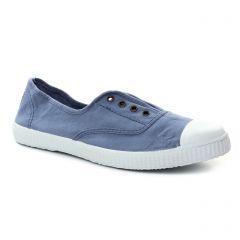 Chaussures femme été 2018 - tennis Victoria bleu jean