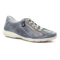 Chaussures femme été 2018 - tennis Remonte bleu