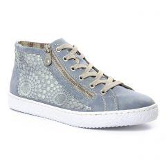 tennis bleu: même style de chaussures en ligne pour femmes que les Rieker