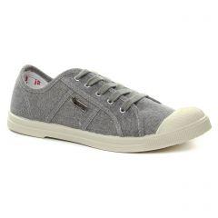 tennis gris argent: même style de chaussures en ligne pour femmes que les Les Tropéziennes