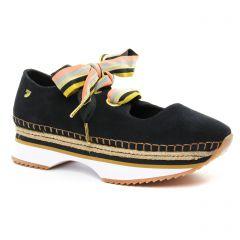 tennis noir: même style de chaussures en ligne pour femmes que les Gioseppo