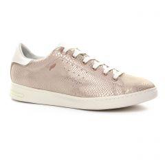 tennis rose doré: même style de chaussures en ligne pour femmes que les Geox
