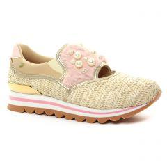 tennis rose doré: même style de chaussures en ligne pour femmes que les Gioseppo