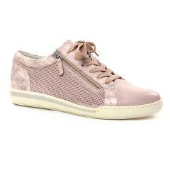 tennis rose gris argent: même style de chaussures en ligne pour femmes que les Tamaris