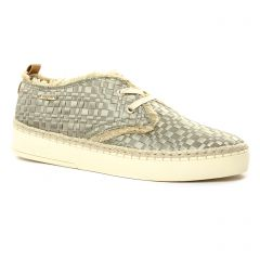 derbys vert taupe: même style de chaussures en ligne pour femmes que les Bugatti
