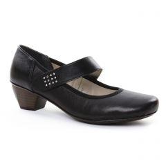 trotteurs-babies noir: même style de chaussures en ligne pour femmes que les Rieker