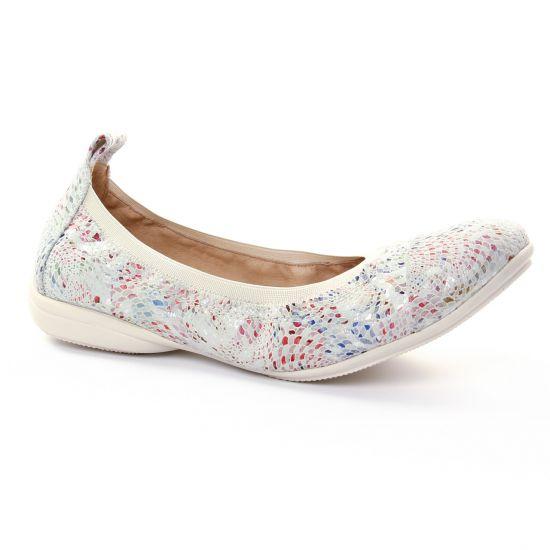 Ballerines Fugitive Nozy Beige, vue principale de la chaussure femme