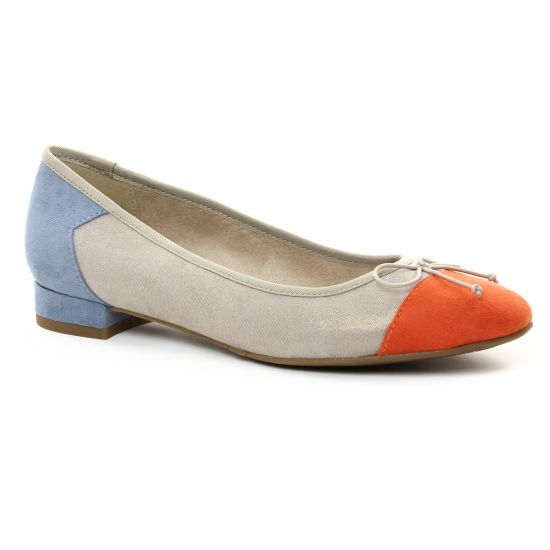 Ballerines Tamaris 22100 Cloud, vue principale de la chaussure femme