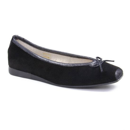 Ballerines Scarlatine 4224 P Noir, vue principale de la chaussure femme