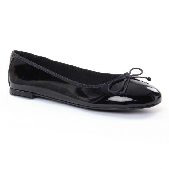 Ballerines Maria Jaen 6142 N Noir, vue principale de la chaussure femme