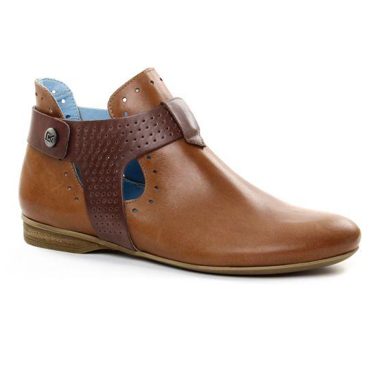 Bottines Et Boots Dorking Candy 7402 Cuero, vue principale de la chaussure femme