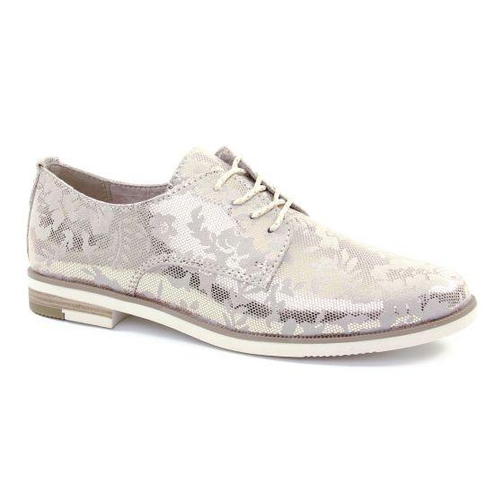 Chaussures À Lacets Marco Tozzi 23215 Dune, vue principale de la chaussure femme