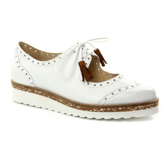 Chaussures À Lacets Pintodiblu 20072 Blanc, vue principale de la chaussure femme