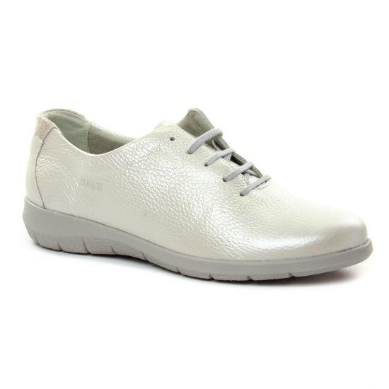 Tennis Et Baskets Mode Suave 66031 Milk, vue principale de la chaussure femme