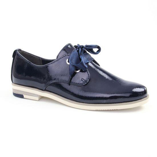 Chaussures À Lacets Marco Tozzi 23201 Navy, vue principale de la chaussure femme