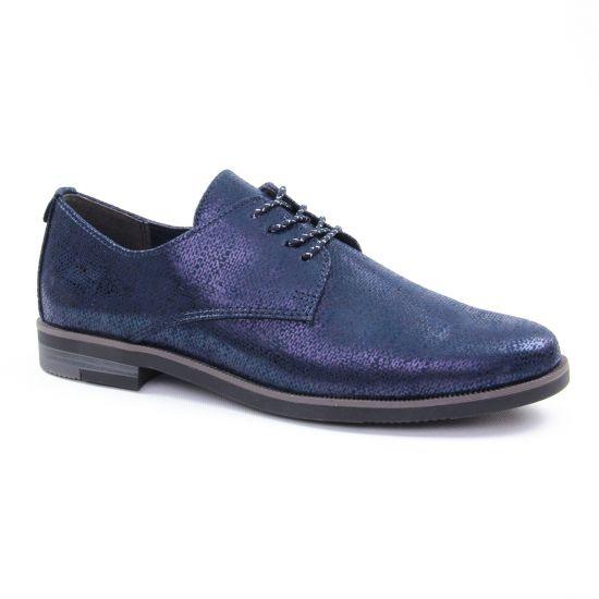 Chaussures À Lacets Marco Tozzi 23202 Navy, vue principale de la chaussure femme
