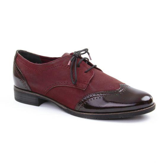 Chaussures À Lacets Tamaris 23202 Bordeaux, vue principale de la chaussure femme