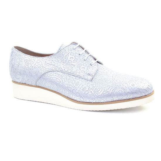 Chaussures À Lacets Scarlatine 22000 Ba Blanc, vue principale de la chaussure femme