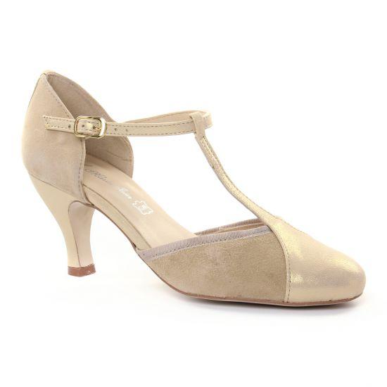 Escarpins Maria Jaen 6023 N Beige, vue principale de la chaussure femme