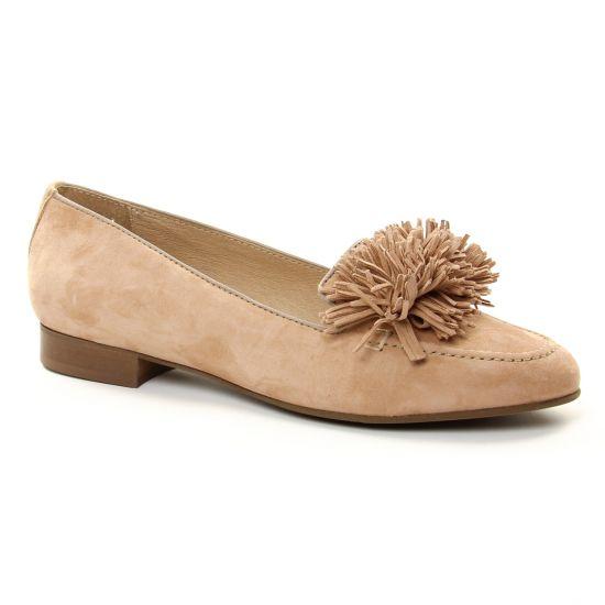 Mocassins Pintodiblu 10414 Nude, vue principale de la chaussure femme