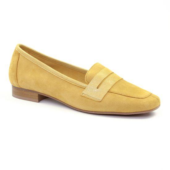 Mocassins Scarlatine 11029 Z Gold, vue principale de la chaussure femme