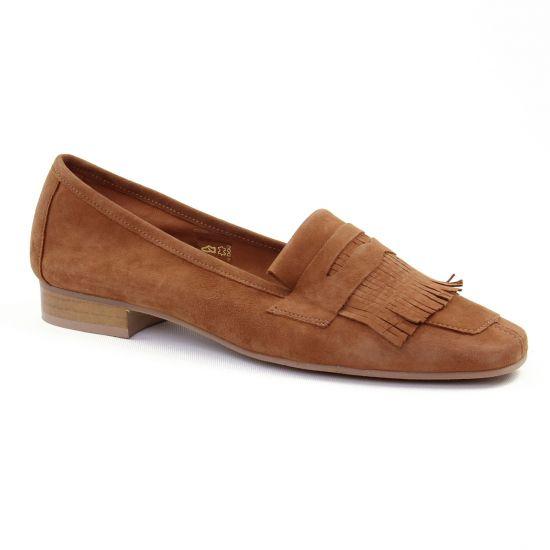 Mocassins Scarlatine 11029 Y Camel, vue principale de la chaussure femme